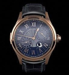 <br/> 2012 - Maitres du Temps Chapeter Three Reveal - in 18K Rose gold case.<br/> Independent Master Watchmakers Kari Voutilainen and Andreas Strehler...