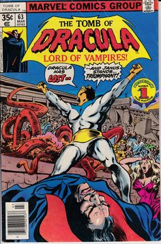 Tomb of Dracula 63 March 1978 Issue Marvel Comics by ViewObscura