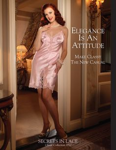Secrets In Lace Catalog Cover - Classic Collection 2012