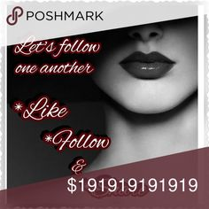 Let's be friends! My fist follow post!  Thank you to all who follow like and share this listing!  Much appreciated happy poshing! Let's help one another grow! Accessories