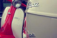 Vespa Ape, via Flickr. Red Vespa, Vespa Ape