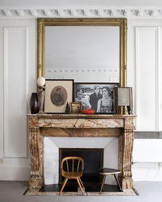 beautiful fireplace mantel #interiors #décor #decorating - #fireplace #fireplaces #fireplacemantels