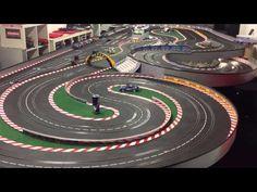 Carrera Digital 124 Porsche 917k Gesipa - 10 schnelle Runden auf dem DAYTKONA Interregional Speedway - YouTube