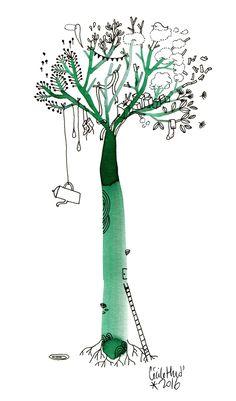 un arbre à thé et à bien d'autres choses encore ---  Enregistrer