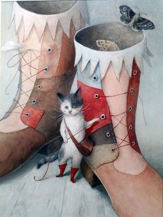 """Puss in Boots"" by Ayano Imai"