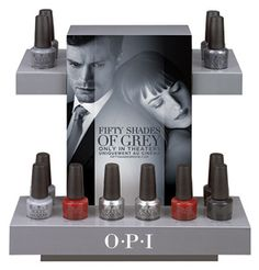 50 Shades of Grey Collection by @opiproducts