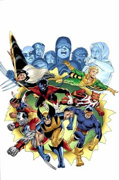 X-MEN by Dave Cockrum and John Cassaday
