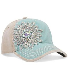 Olive  Pique Bling Hat at Buckle.com