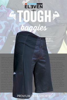 """Not all mountain biking shorts are created equal.  """"...If you're feeling a little more flush, the Eleven Velo ones are pretty special. It's a rare treat to find mountain bike clothing which is made to measure, and the results are excellent... We like them a lot."""" Singletrackworld, issue 102"""