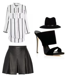 """""""Outfit Idea by Polyvore Remix"""" by polyvore-remix ❤ liked on Polyvore featuring moda, rag & bone, Proenza Schouler y Giuseppe Zanotti"""
