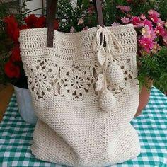 Grandiosos diseños de bolsas tejidas a crochet paso a paso - Tejidos a crochet paso a paso - Stricken anleitungen,Stricken einfach,Stricken ideen,Stricken tiere,Stricken strickjacke Crochet Wallet, Crochet Tote, Crochet Handbags, Crochet Purses, Crochet Gifts, Crochet Stitches, Knit Crochet, Crochet Patterns, Crochet Designs