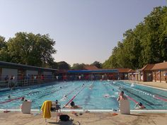 """Make a splash into one of UK's many Lidos (say """"leedo"""" or """"lye-do"""", which ever you prefer!) like London Fields Lido in East London."""