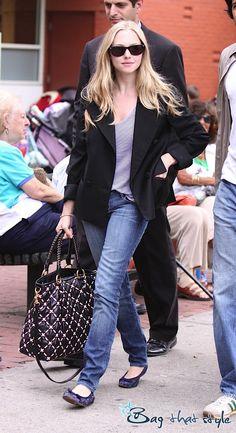Amanda Seyfried's Special Edition Miu Miu (Image 2) - Bag That Style - Celebrity Handbags
