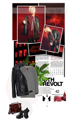 """""""Hello Fall"""" by tortor1994 ❤ liked on Polyvore featuring Hedi Slimane, Piel Leather, Valentino, Miss Selfridge, T.U.K., Marc by Marc Jacobs, Pantone, Bobbi Brown Cosmetics and Kenneth Jay Lane"""