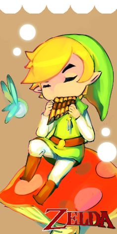 This is like Minish Cap, Phantom Hourglass, and Spirit Tracks all in one picture.