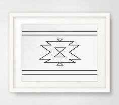 Printable black and white aztec wall art - Perfect for the ethnic home with a black and white color scheme. NO PHYSICAL PRINTS INCLUDED - DIGITAL DOWNLOAD ONLY  ===   Print out this modern wall artwork from your home computer or local print shop to style and decorate your home or office! Print includes: 1 JPG files & 4 PDF files  Your order will include one (1) JPG & four (4) PDFs with different sizes. Youll get every single file described below! Having these multiple files helps ensure that…