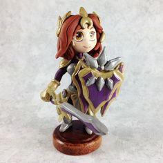 Leona League of Legends Sculpture by LeiliaK on deviantART