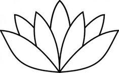 egyptian lotus flower | flower lotus template | Quilts | Pinterest