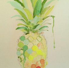 Lauren Carlson Walcott painting