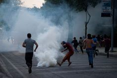 Police violance in Istanbul #direngeziparki #occupyturkey