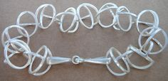 D-ring snaffle bit bracelet