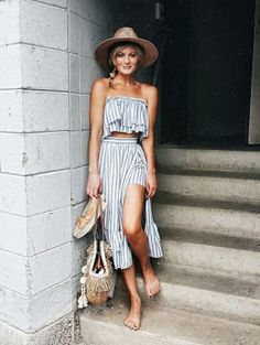 straw hat and bag with espadrilles
