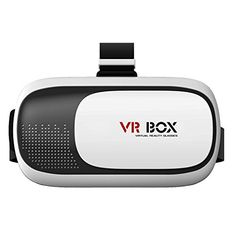 Esamconn 3D VR BOX 2.0 Virtual Reality Glasses, 3D VR Headsets for 4.7~6 Inch Screen Phones iphone 4S, iphone 5s Samsung LG Sony HTC, Nexus 6 etc. This VR glasses is professional and made of high-quality plastic, give you wonderful 3d experience!. Use high quality ABS and 42mm diameter spherical resin lens material without stimulation plastic sheet, environmental, high quality, lowering down the distortion to the minimum when magnifying the images and providing wider view. Easy to put…