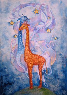 The Giraffe Dreaming by =ShatteredSwords on deviantART