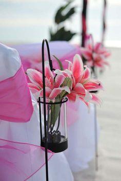 Beach Wedding Decor & Decorations