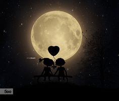 https://www.flickr.com/photos/arnisgashi/22092409195 see Moon with my best friend that makes your world beautiful