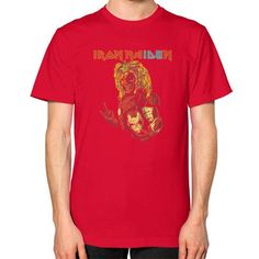 IRON MAIDEN Unisex T-Shirt (on man)
