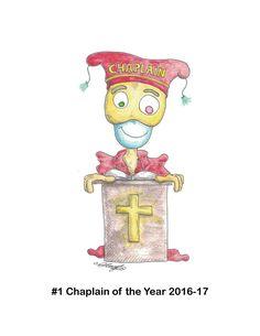 Chaplain of the Year Cartoon