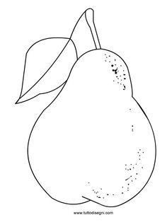 Disegno pera - TuttoDisegni.com