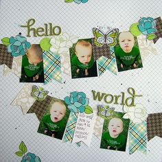 Hello World by Tessa Buys, via Flickr