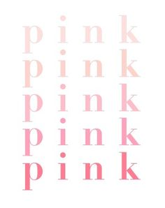 pink ♡ ombre