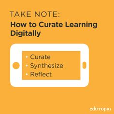 To ensure that students get the most out of the note-taking experience, teach them to curate, synthesize, and reflect on what they're writing through this awesome app! Found this great idea on Edutopia's page! Teaching Technology, Technology Integration, Educational Technology, Teaching Tools, Teacher Resources, Teaching Kids, Educational Thoughts, Thoughts On Education, 21st Century Learning