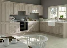 Image result for cappuccino high gloss kitchen