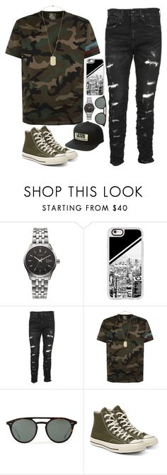 """Outfit #4"" by iireidii on Polyvore featuring Citizen, Casetify, R13, Valentino, Tod's, Converse and Vans"