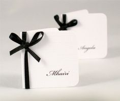 Wedding Place Cards - Wedding Place Name Card