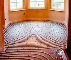 Radiant Floor Heating. NO MORE COLD FLOORS!
