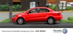 Nunca fue tan divertido manejar por Lima - GOL SEDAN - Flechelle Volkswagen