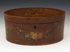 OnlineGalleries.com - Sheraton Oval Wig Box
