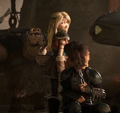 OMG what a babe! Fishmeat is so cute! Httyd Dragons, Httyd 3, Hicks Und Astrid, Toothless Costume, Dragon Defender, Ultimate Dragon, Hiccup And Astrid, How To Train Dragon, Fantasy Castle