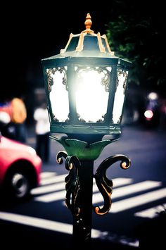 Street light of Malioboro