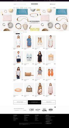 SAHARA - Fashion 4 - Ultimate Responsive Magento Themes