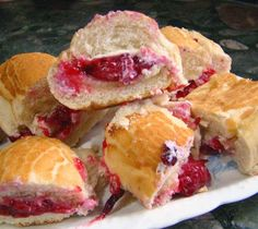 New recipes: Baked Brie-Cranberry Bun Appetizers