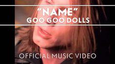 "Goo Goo Dolls - ""Name"" [Official Video] oh so long since I've heard something of A Boy Named Goo. #shameOfBuffalo but a guilty pleasure."