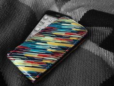 """""""80's Sweater"""" by Jacqueline Maldonado    Our new and exclusive collection of """"Artist Designed"""" iPhone 5 flip cases available from http://www.createandcase.com/artist-gallery/388-80-s-sweater-flip-case.html"""