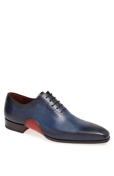 Magnanni 'Vito' Medallion Toe Leather Oxford available at #Nordstrom