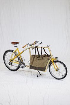 Cool and interesting design - not quite a bakfiets. Oregon Manifest » Frances